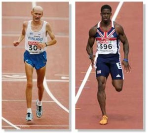 Who do you think would be better at most sports? The anaerobic or the aerobic ahtlete?